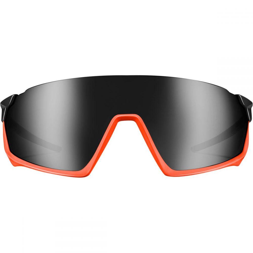 ロカ Roka レディース スポーツサングラス【GP - 1 Sunglasses】Black-Torch/Black Mirror
