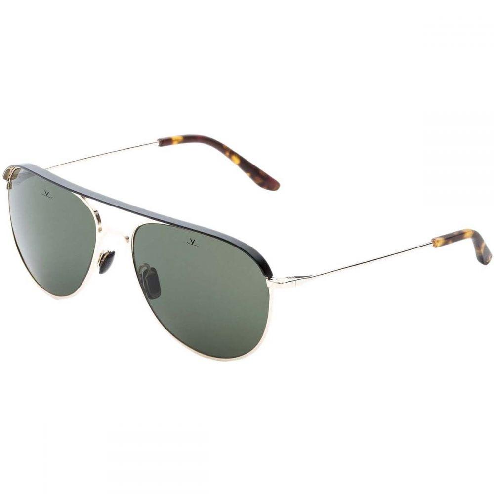 ヴュアルネ Vuarnet レディース メガネ・サングラス【Cap Pilot Sunglasses】Gold/Black/Pure Grey