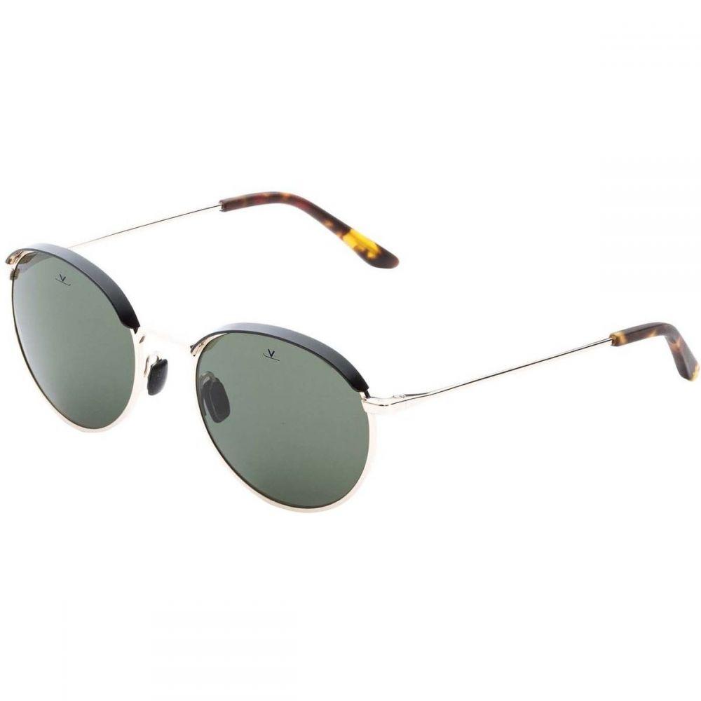 ヴュアルネ Vuarnet レディース メガネ・サングラス【Metal Round Sunglasses】Gold/Black/Pure Grey