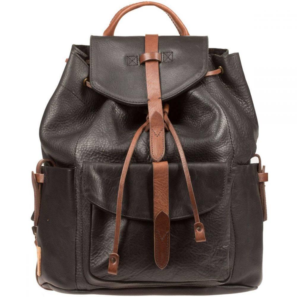 ウィルレザーグッズ Will Leather Goods レディース バッグ バックパック・リュック【Rainier Backpack】Black