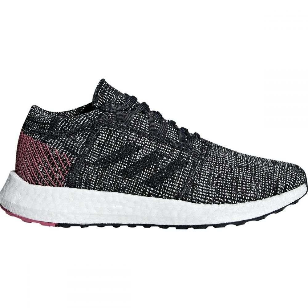 アディダス Adidas レディース ランニング・ウォーキング シューズ・靴【Pureboost Element Running Shoe】Carbon/Carbon/Trace Maroon