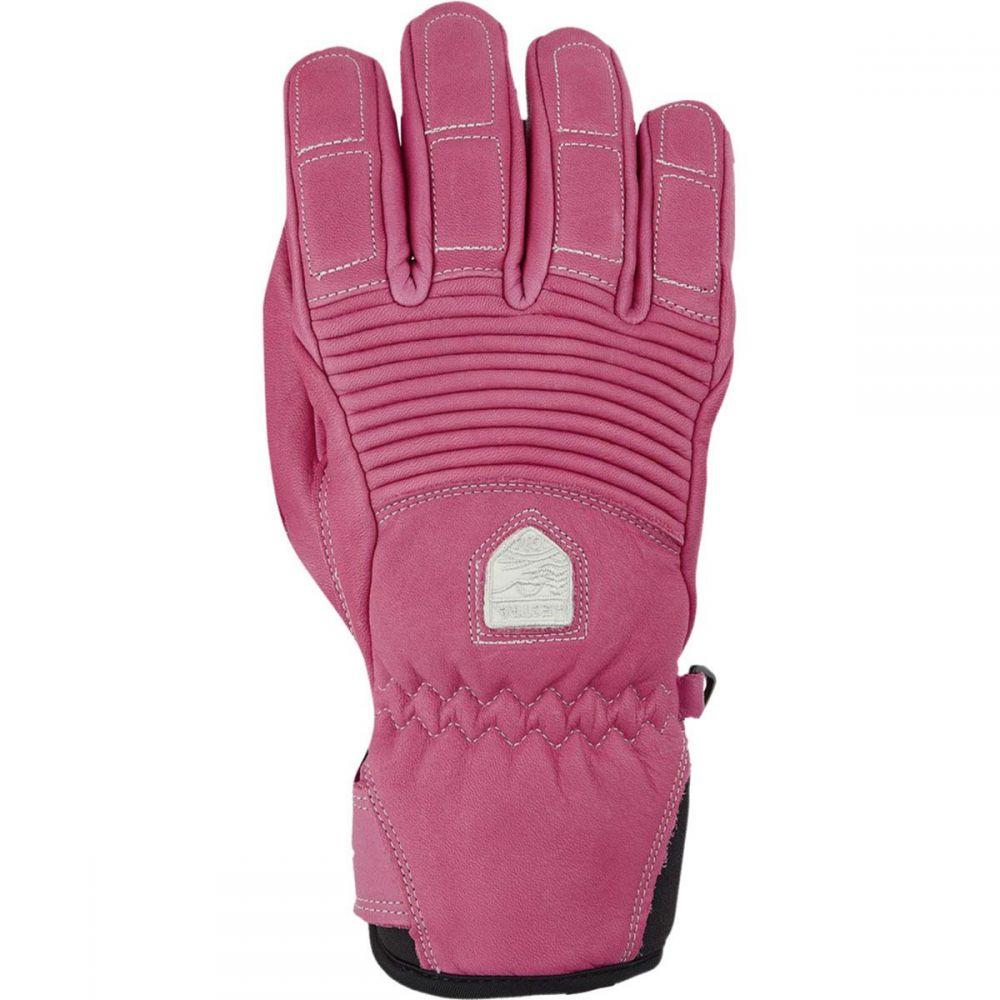 ヘスタ Hestra レディース 手袋・グローブ【Leather Fall Line Glove】Cerise