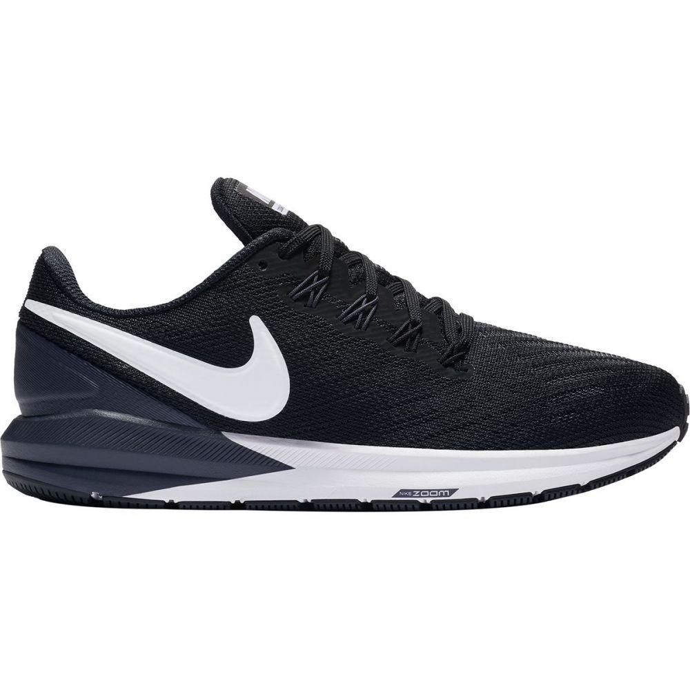 ナイキ Nike レディース ランニング・ウォーキング シューズ・靴【Air Zoom Structure 22 Running Shoe】Black/White-gridiron