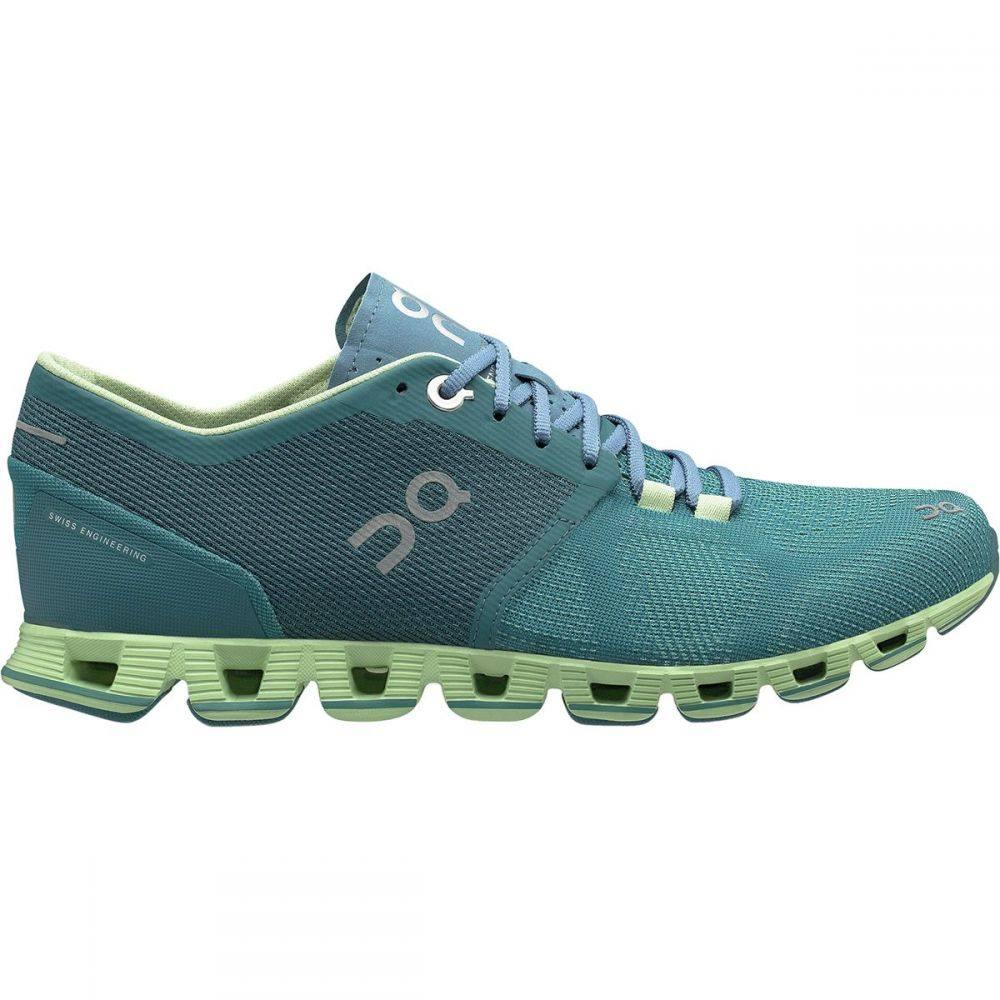 オン On Footwear レディース ランニング・ウォーキング シューズ・靴【Cloud X Running Shoe】Storm/Willow