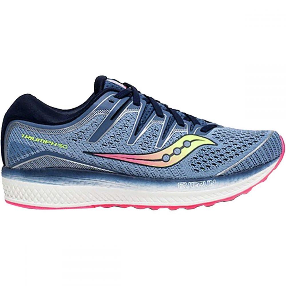 サッカニー Saucony レディース ランニング・ウォーキング シューズ・靴【Triumph Iso 5 Running Shoe】Blue/Navy