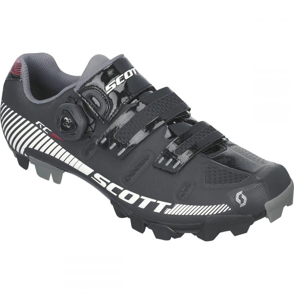 スコット Scott レディース 自転車 シューズ・靴【MTB RC Lady Shoe】Black/White Gloss
