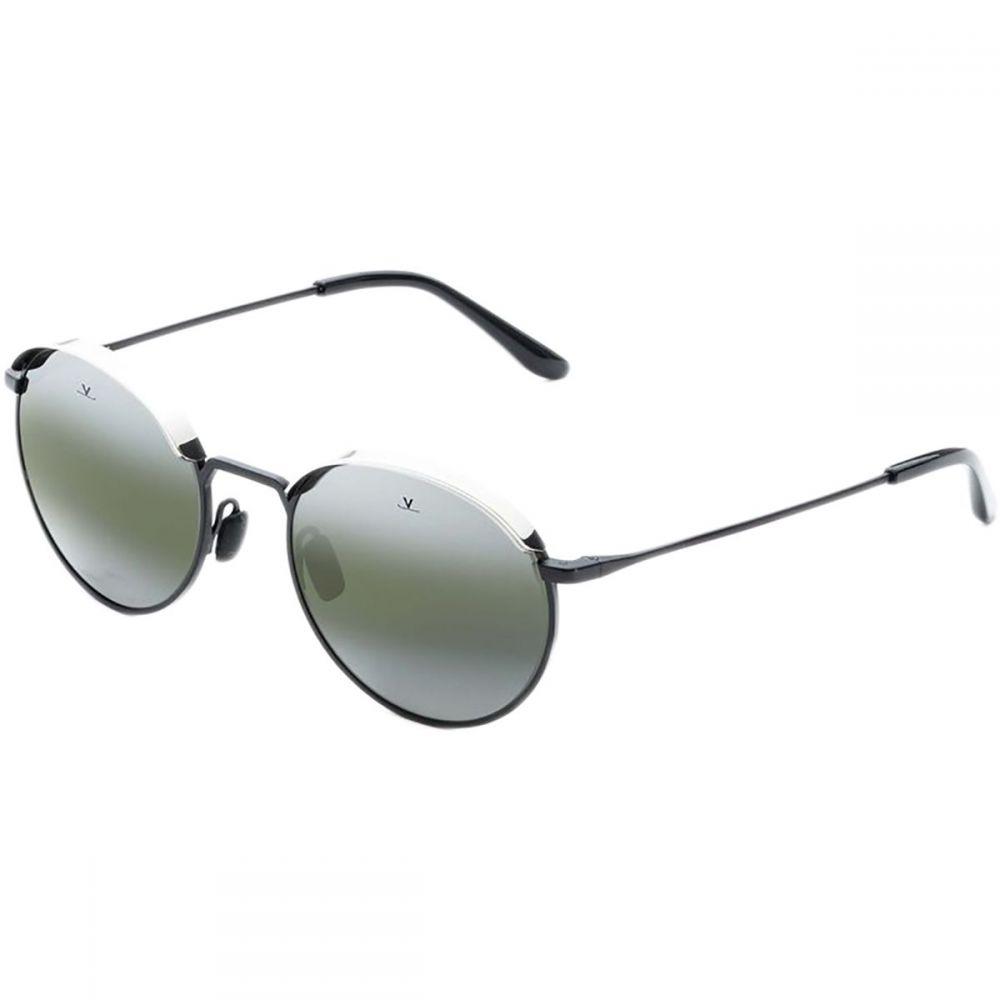 ヴュアルネ Vuarnet レディース メガネ・サングラス【Metal Round Sunglasses】Black/Silver/Grey Lynx