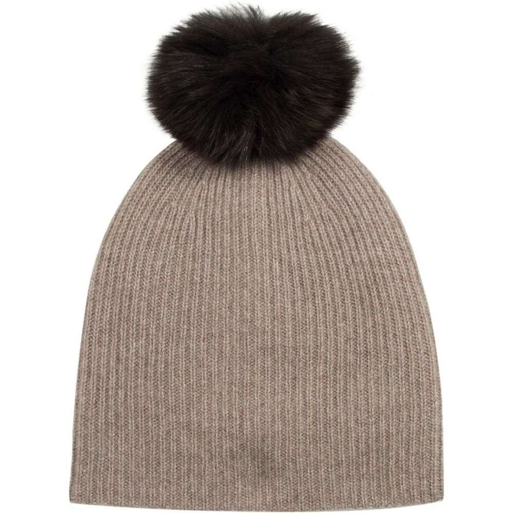 3a021e30c1578 ホワイトウォーレン レディース 帽子 ニット Mink Brown  サイズ交換無料  ホワイトウォーレン White ...