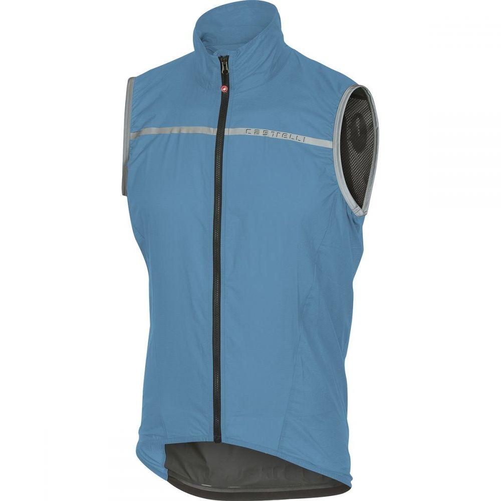 カステリ Castelli メンズ 自転車 トップス【Superleggera Vests】Sky Blue