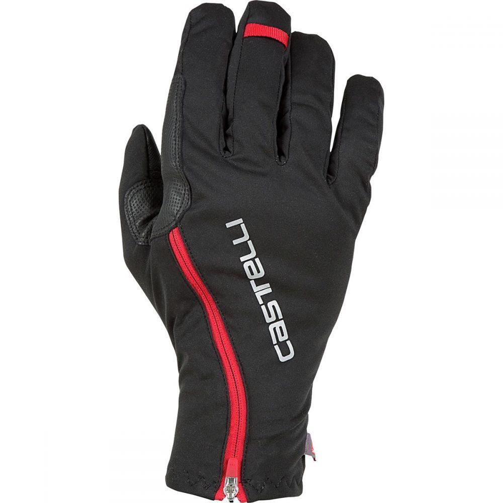 カステリ Castelli メンズ 自転車 グローブ【Spettacolo RoS Gloves】Black/Red