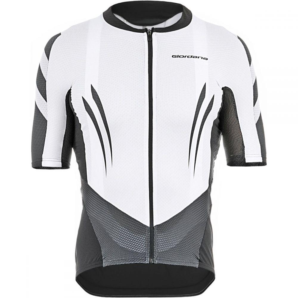 ジョルダーノ Giordana メンズ 自転車 トップス【EXO System Jersey - Short Sleeves】White/Black