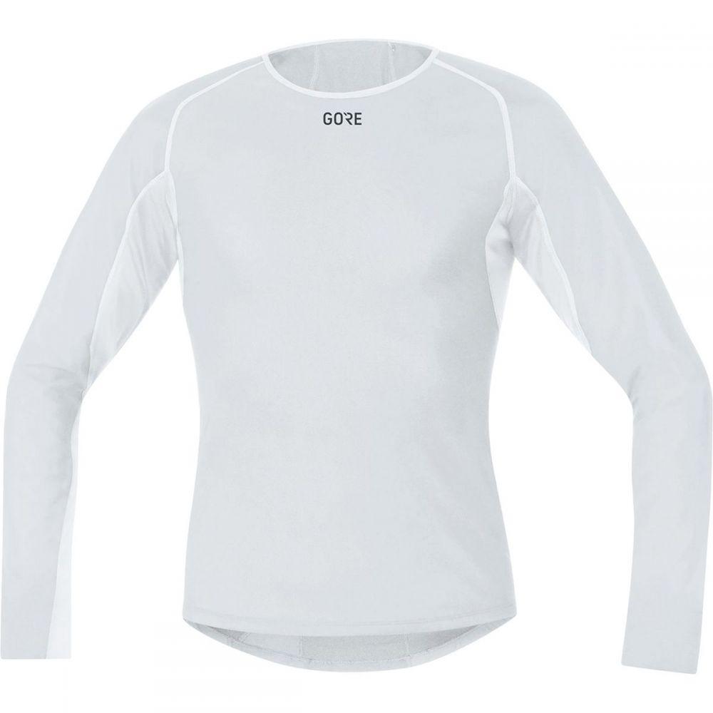 ゴアウェア Gore Wear メンズ 自転車 トップス【Windstopper Base Layer Thermo Long - Sleeve Shirts】Light Grey/White