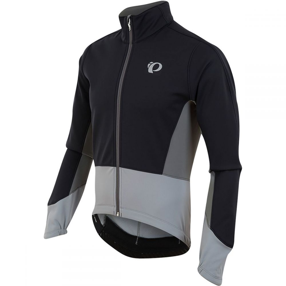 パールイズミ Pearl Izumi メンズ 自転車 アウター【ELITE Pursuit Softshell Jackets】Black/Monument Grey