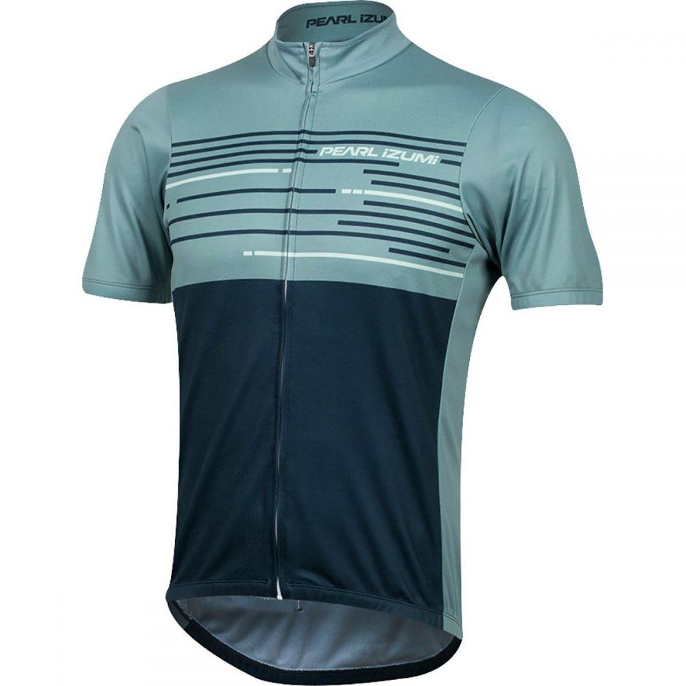 パールイズミ Pearl Izumi メンズ 自転車 トップス【Select LTD Short - Sleeve Jerseys】Arctic/Mid Navy Tidal