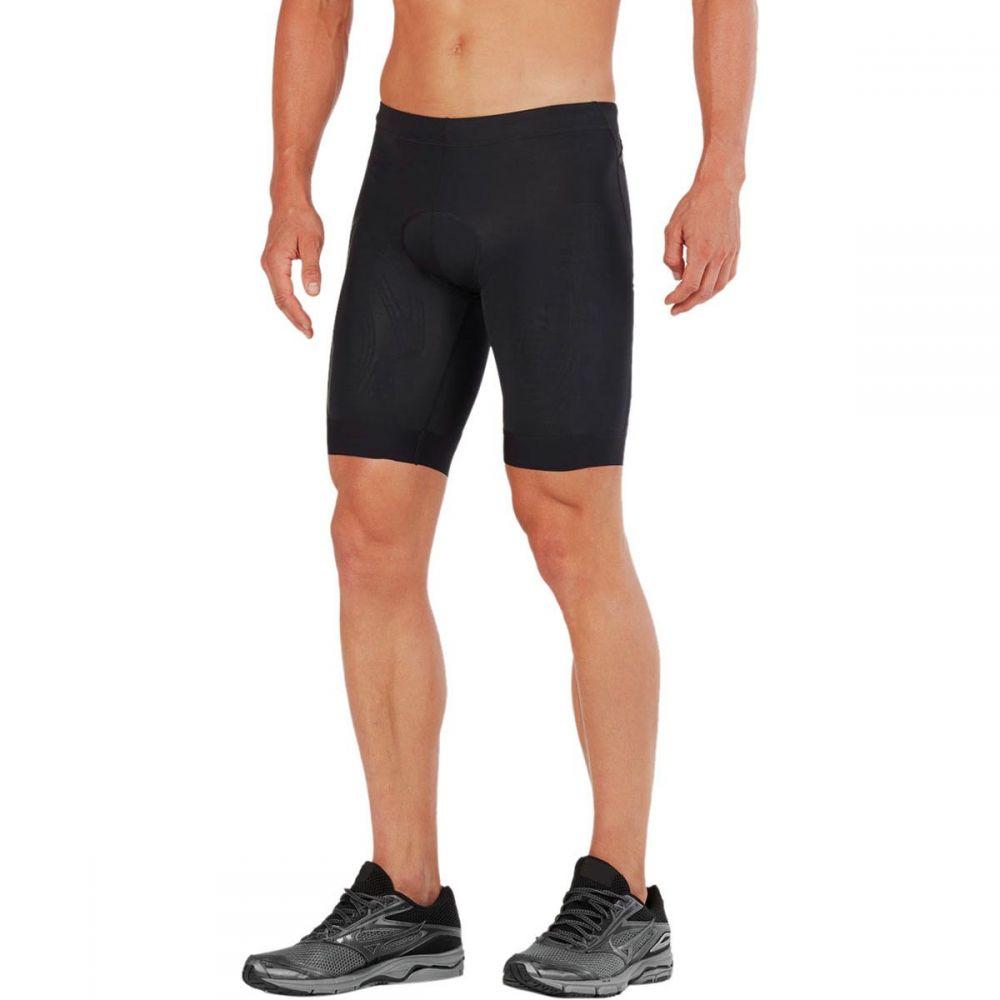 ツータイムズユー 2XU メンズ トライアスロン ボトムス・パンツ【Compression Tri Shorts】Black/Black