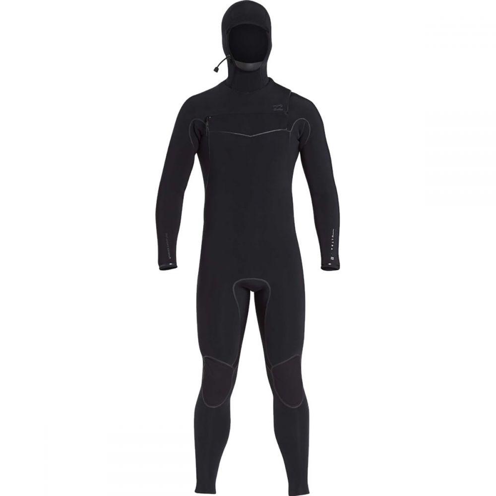 ビラボン Billabong メンズ 水着・ビーチウェア ウェットスーツ【5/4 Furnace Carbon Ultra Hooded Chest Zip Wetsuits】Black