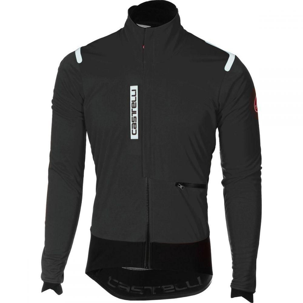 カステリ Castelli メンズ 自転車 アウター【Alpha Ros Jackets】Light Black/Black