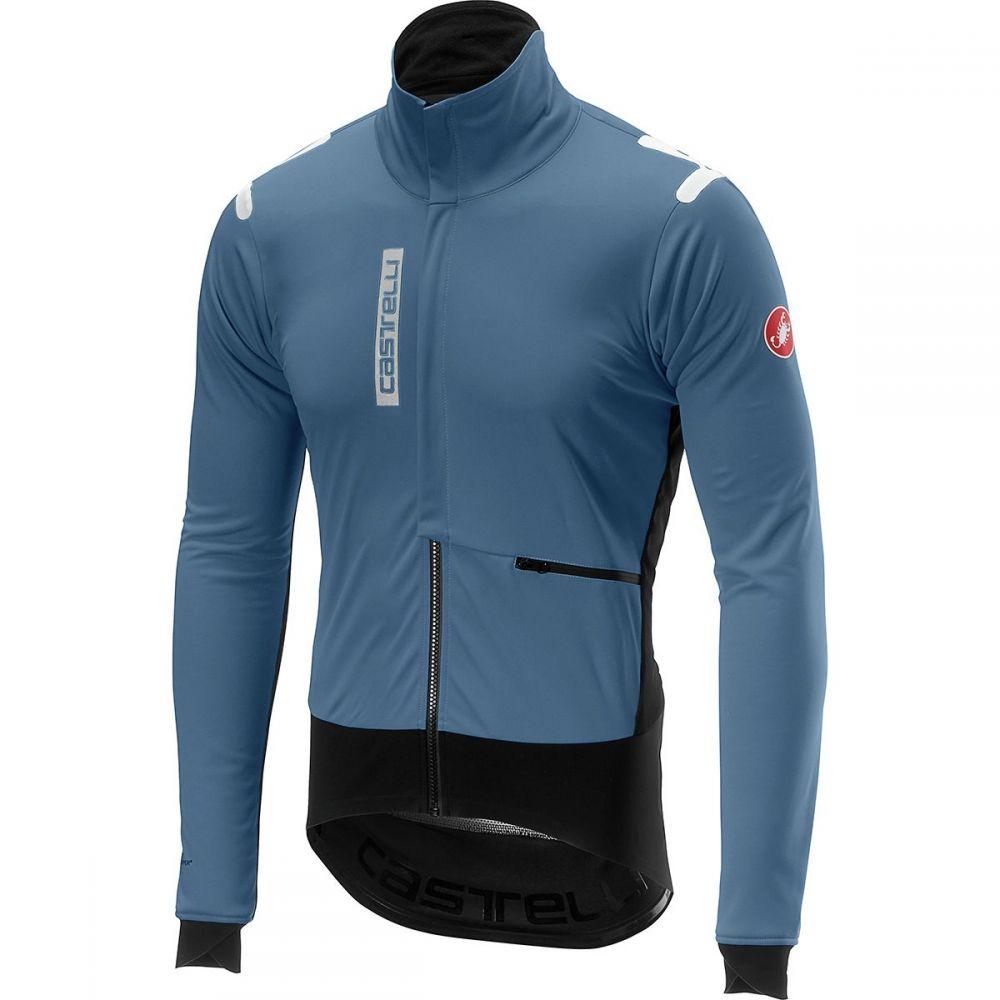 カステリ Castelli メンズ 自転車 アウター【Alpha Ros Jackets】Moonlight Blue/Black