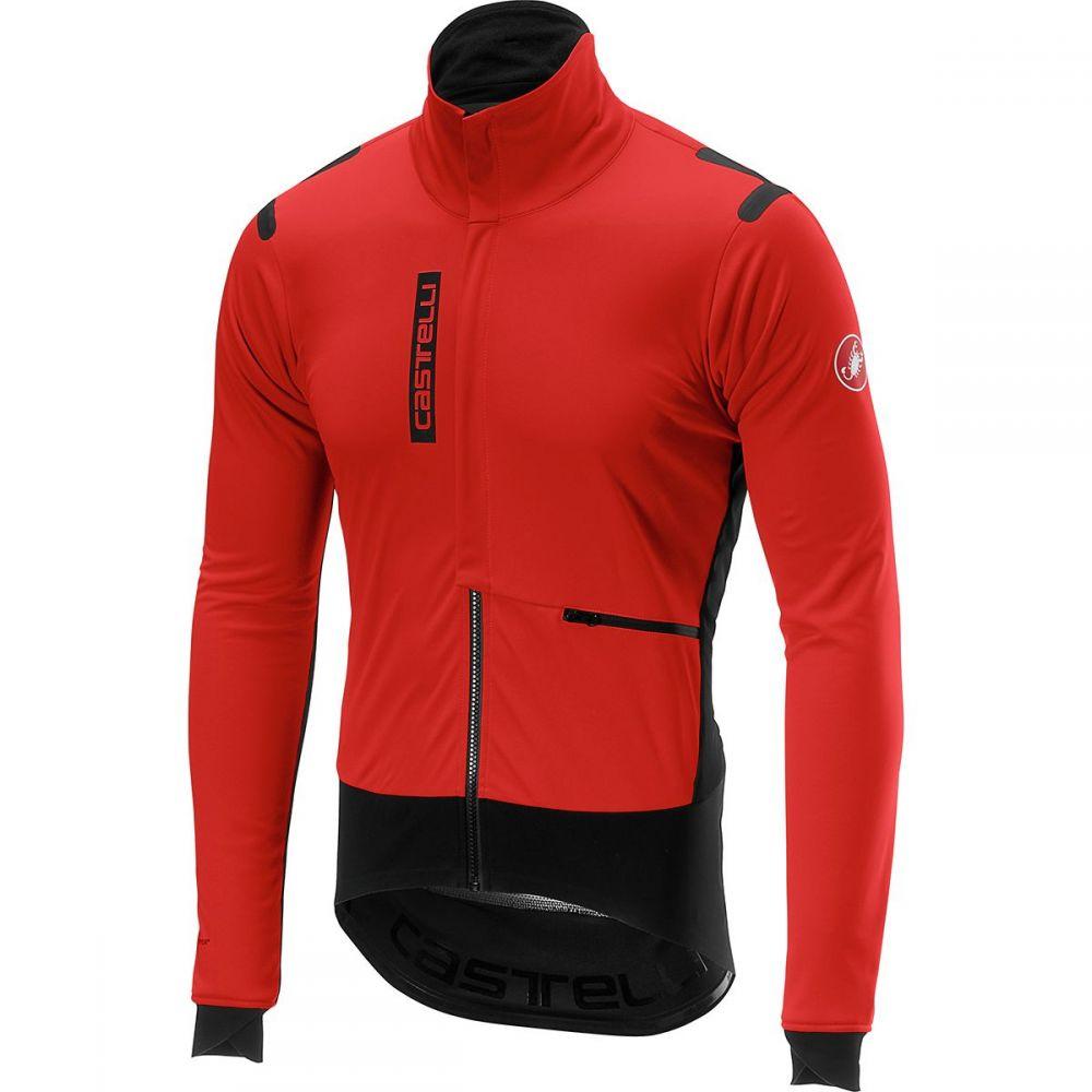 カステリ Castelli メンズ 自転車 アウター【Alpha Ros Jackets】Red/Black