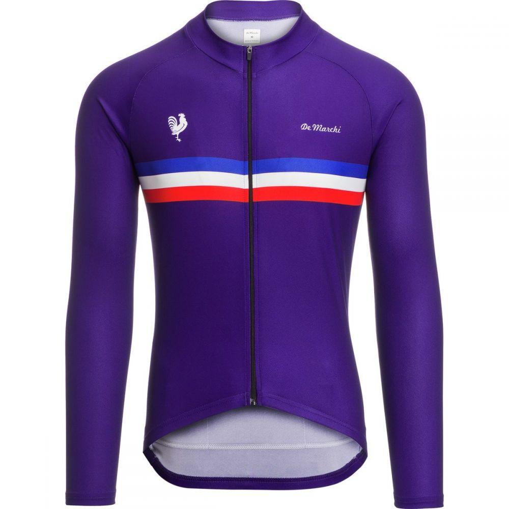 デマルキ De Marchi メンズ 自転車 トップス【Euro Nationals Limited Edition Jerseyss】Dark Blue