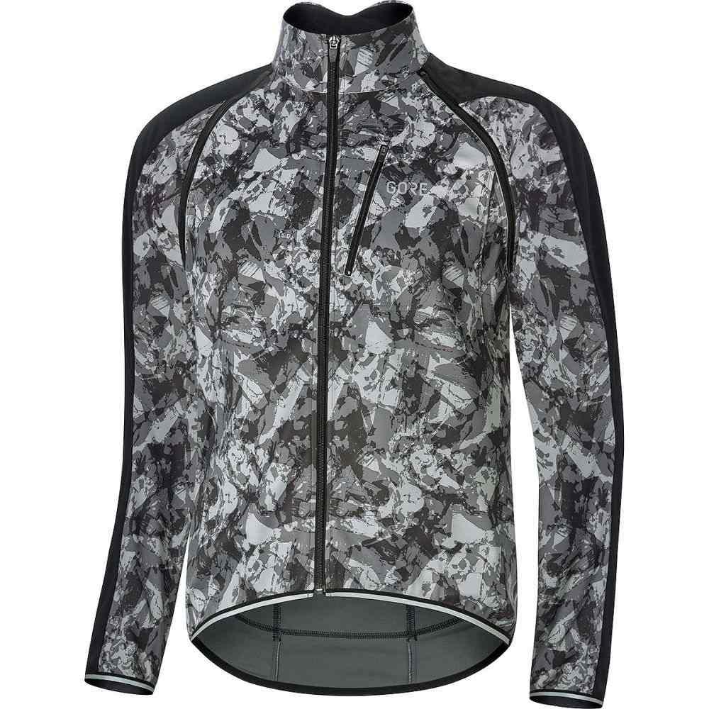 ゴアウェア Gore Wear メンズ 自転車 アウター【C3 Gore Windstopper Phantom Zip - Off Jackets】Terra Grey Camo/Black