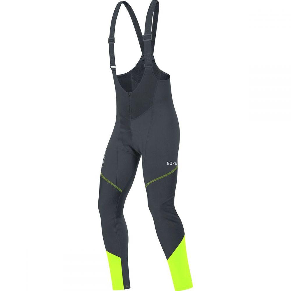 ゴアウェア Gore Wear メンズ 自転車 ボトムス・パンツ【C3 Gore Windstopper Bib Tights+s】Black/Neon Yellow