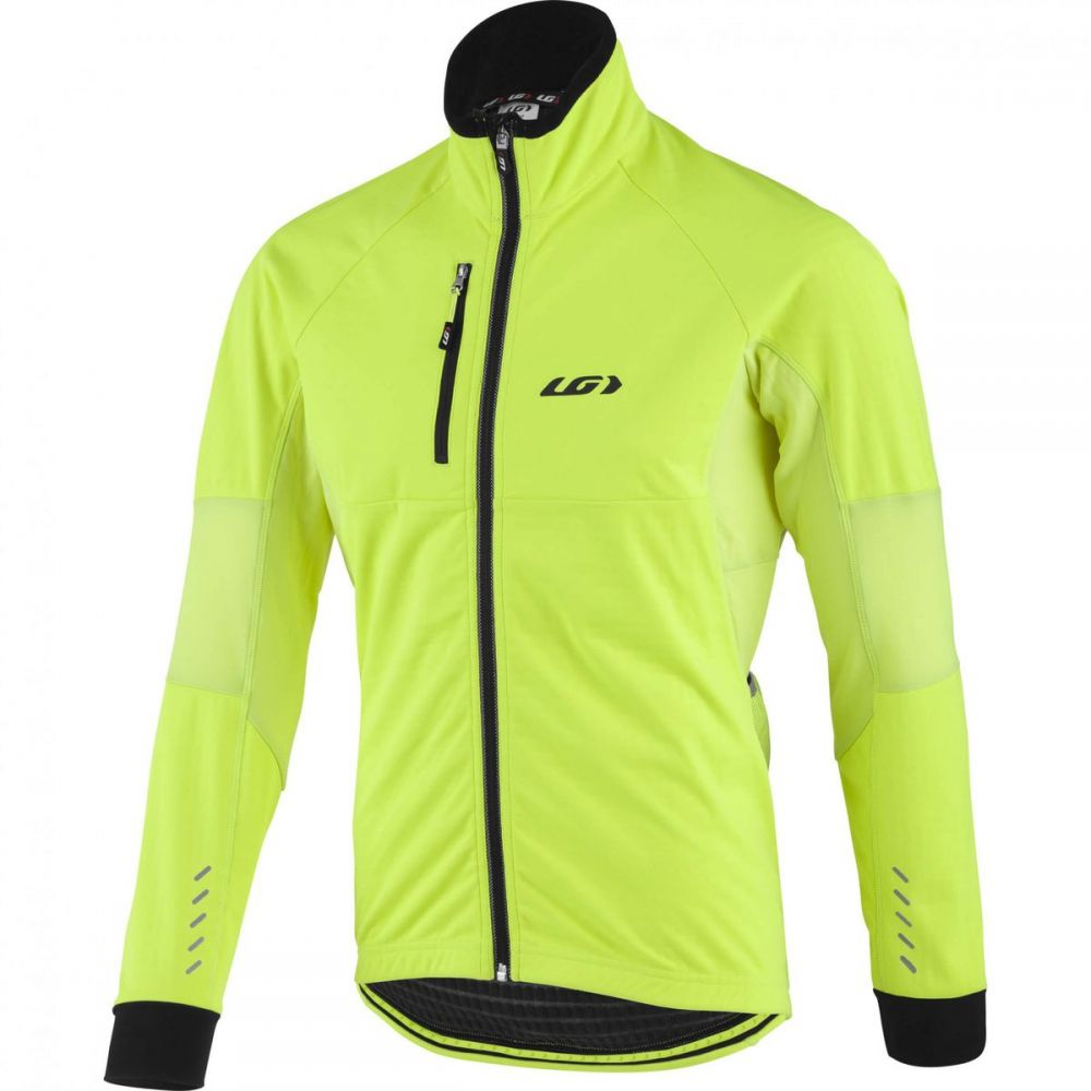 ルイガノ Louis Garneau メンズ 自転車 アウター【LT Enerblock Jackets】Bright Yellow