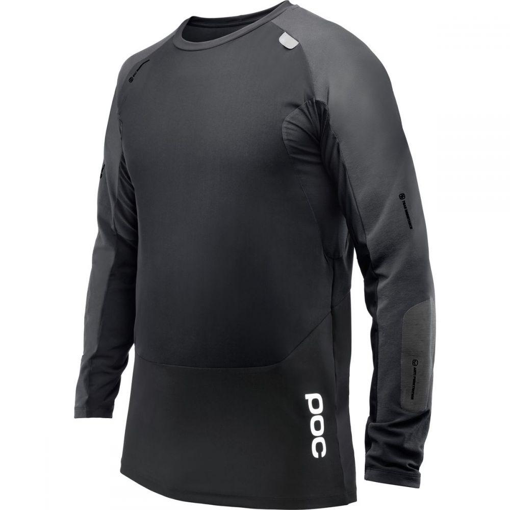 ピーオーシー POC メンズ 自転車 トップス【Resistance Pro DH Jerseys】Carbon Black