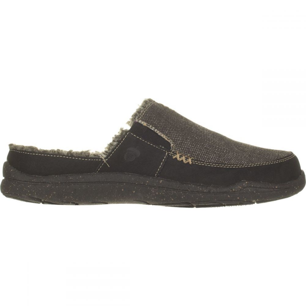 エーコーン Acorn メンズ シューズ・靴 スリッパ【WearAbout Slide Slipper with FirmCores】Stonewash Black Canvas
