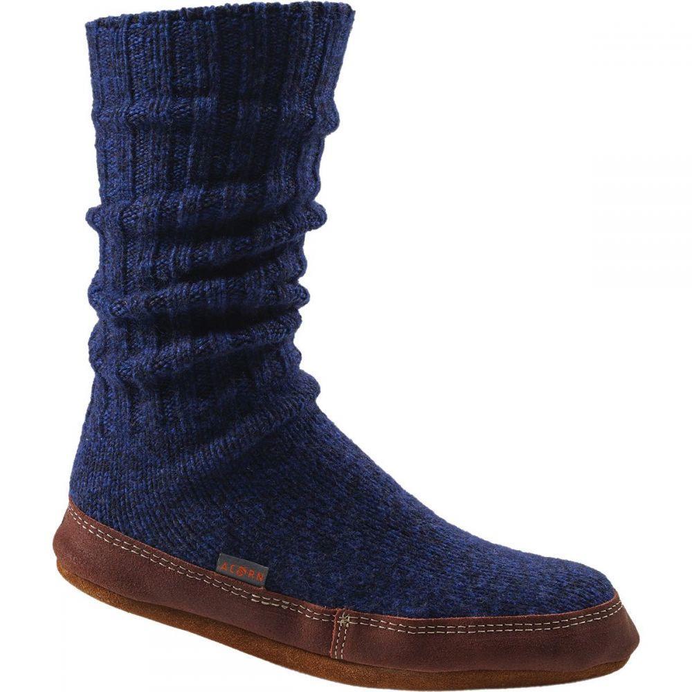 エーコーン Acorn メンズ シューズ・靴 スリッパ【Slipper Socks】Cobalt Ragg Wool