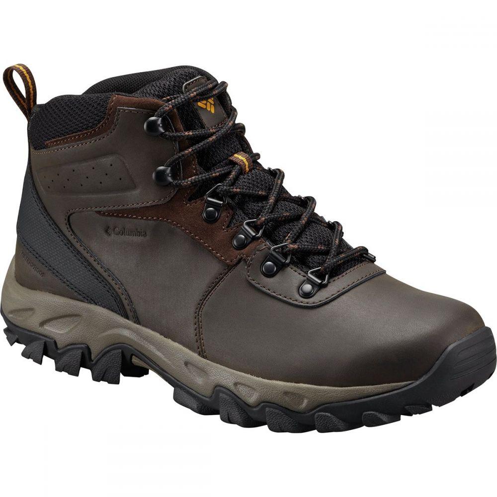 コロンビア Columbia メンズ ハイキング・登山 シューズ・靴【Newton Ridge Plus II Waterproof Hiking Boots】Cordovan/Squash