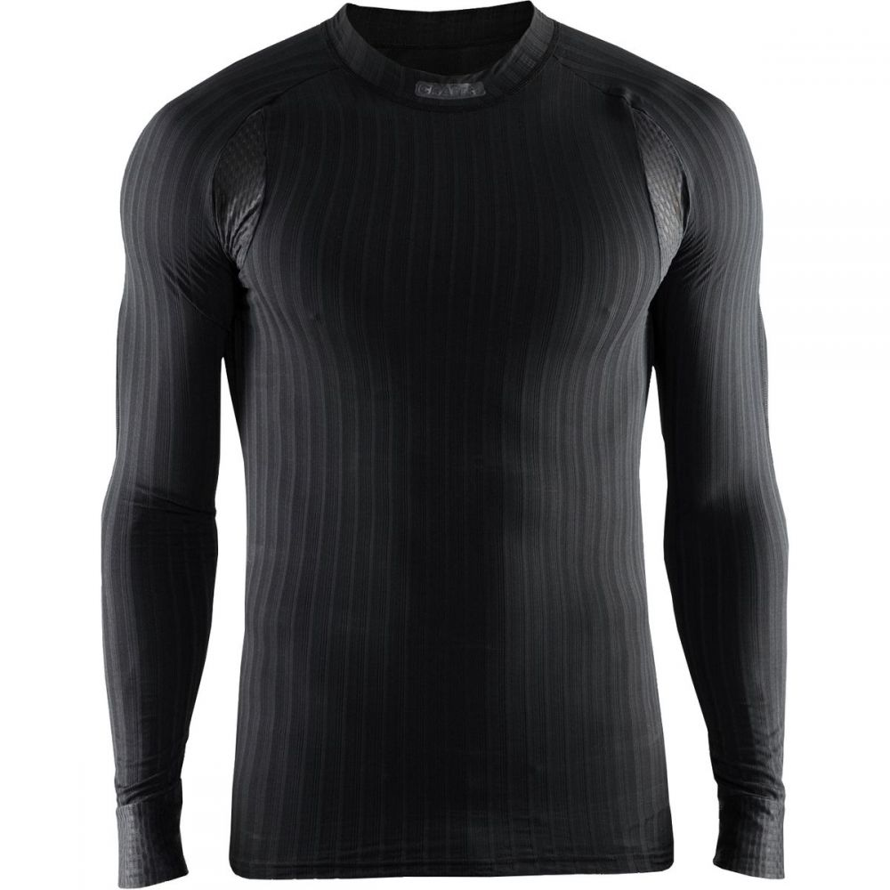クラフト Craft メンズ 自転車 トップス【Active Extreme 2.0 CN Long - Sleeve Baselayers】Black