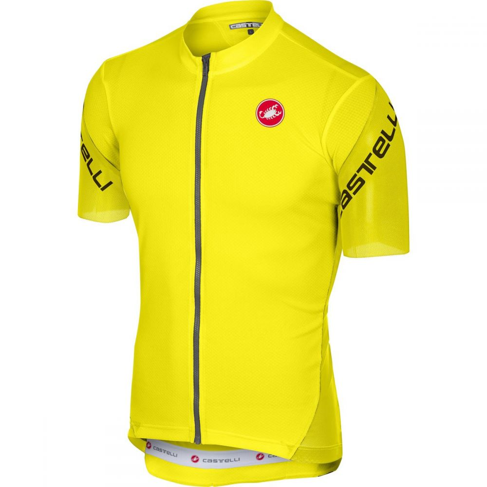 【限定品】 カステリ カステリ Castelli メンズ 自転車 トップス Zip【Entrata 3 Full - 3 Zip Jerseys】Yellow Fluo, THNLIGHT LED SHOP:a0afbd09 --- bibliahebraica.com.br