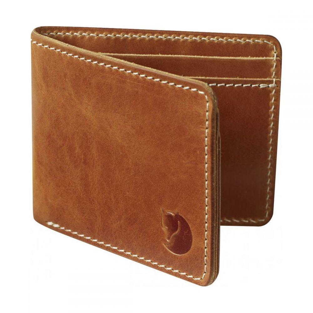フェールラーベン Fjallraven メンズ 財布【Ovik Wallets】Leather Cognac