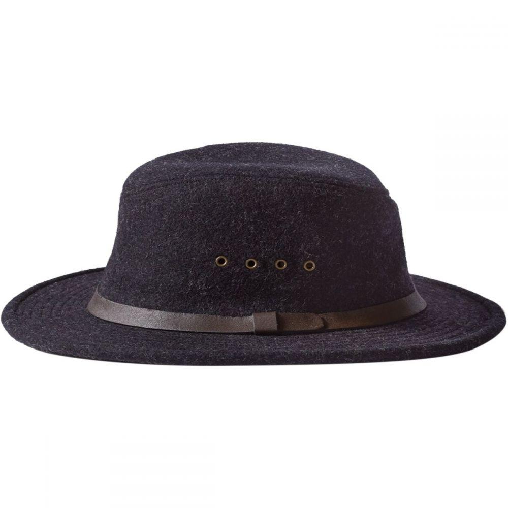 フィルソン Filson レディース 帽子【Wool Packer Hat】Charcoal