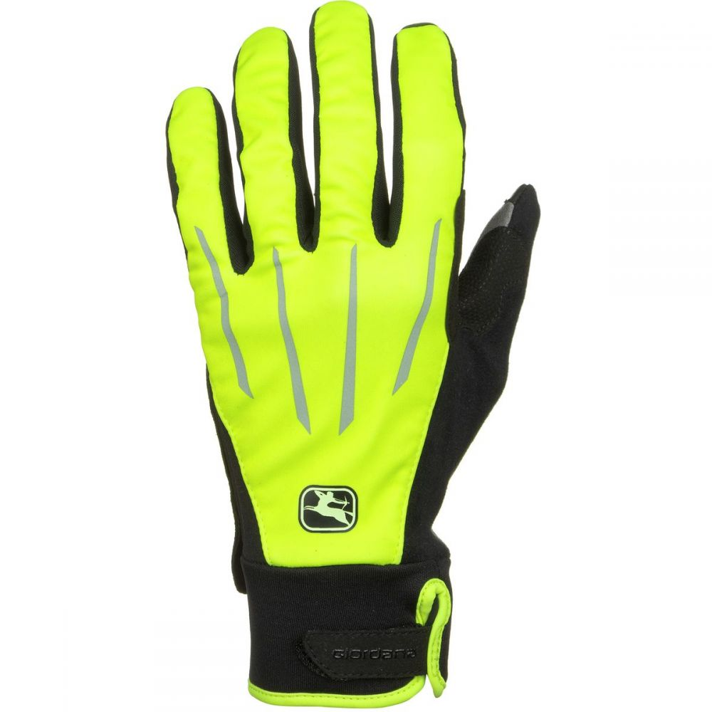 ジョルダーノ Giordana メンズ 自転車 グローブ【AV 100 Winter Gloves】Fluo Yellow/Black