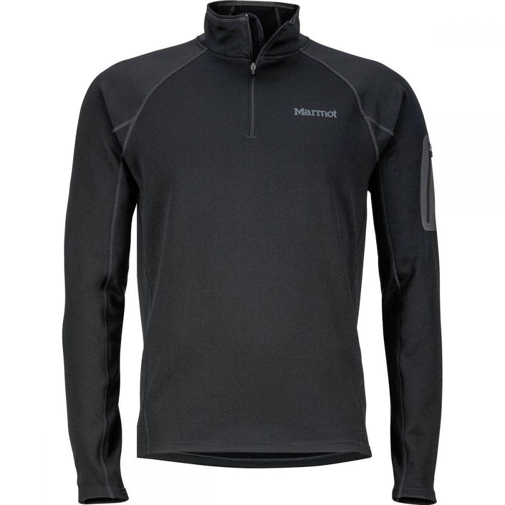 マーモット Marmot メンズ トップス フリース【Stretch 1/2 - Zip Fleece Jackets】Black