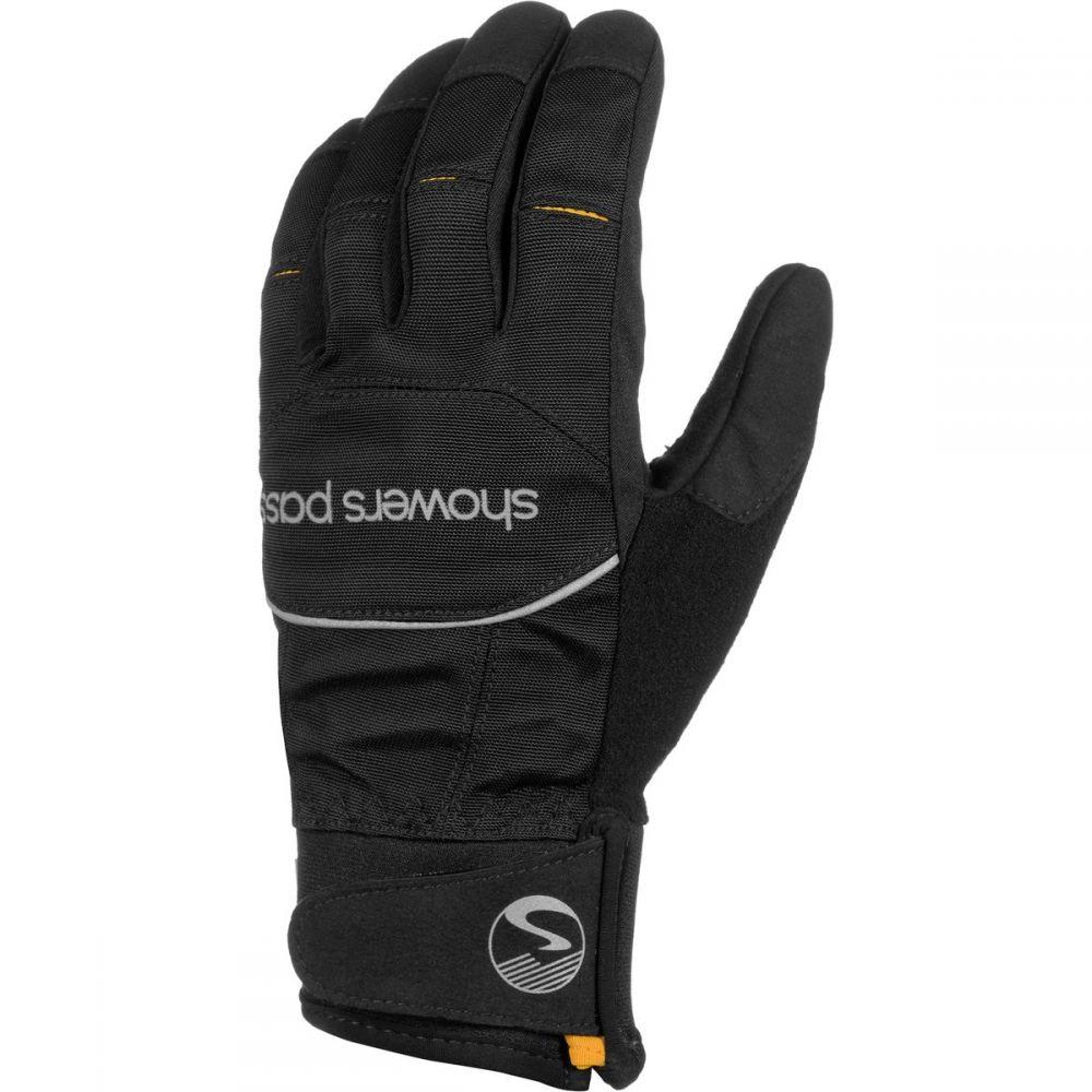 シャワーズ パス Showers Pass レディース 自転車 グローブ【Crosspoint Softshell WP Glove】Black