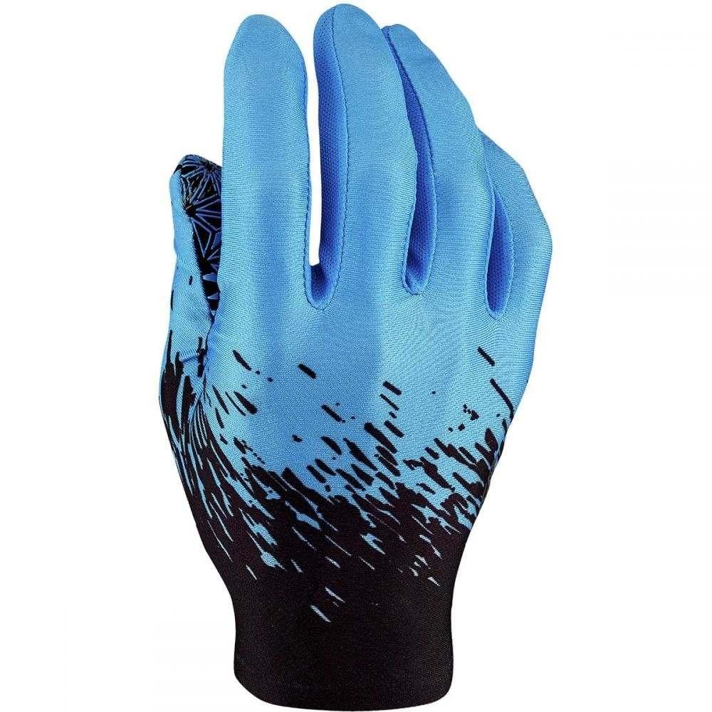 スパカズ Supacaz メンズ 自転車 グローブ【SupaG Long Gloves】Black/Neon Blue