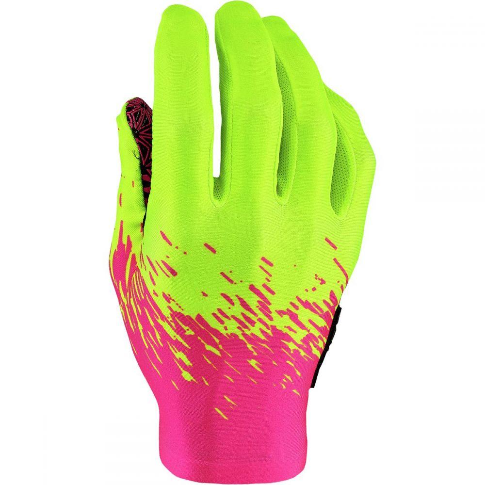 スパカズ Supacaz メンズ 自転車 グローブ【SupaG Long Gloves】Neon Pink/Neon Yellow