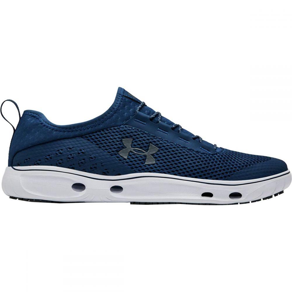 アンダーアーマー Under Armour メンズ シューズ・靴 ウォーターシューズ【Kilchis Water Shoes】Petrol Blue/White/Pitch Gray