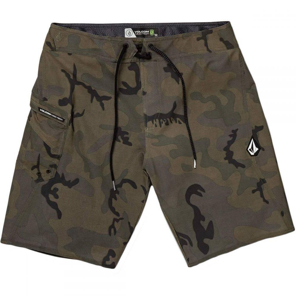 ボルコム Volcom メンズ 水着・ビーチウェア 海パン【Lido Solid Mod Board Shorts】Camouflage