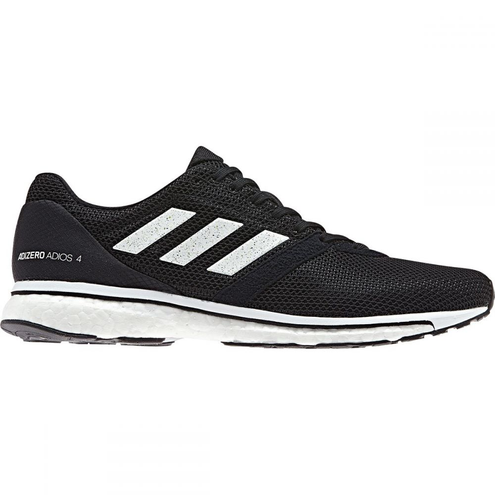 アディダス Adidas メンズ ランニング・ウォーキング シューズ・靴【Adizero Adios 4 Boost Running Shoes】Core Black/Footwear White/Core Black