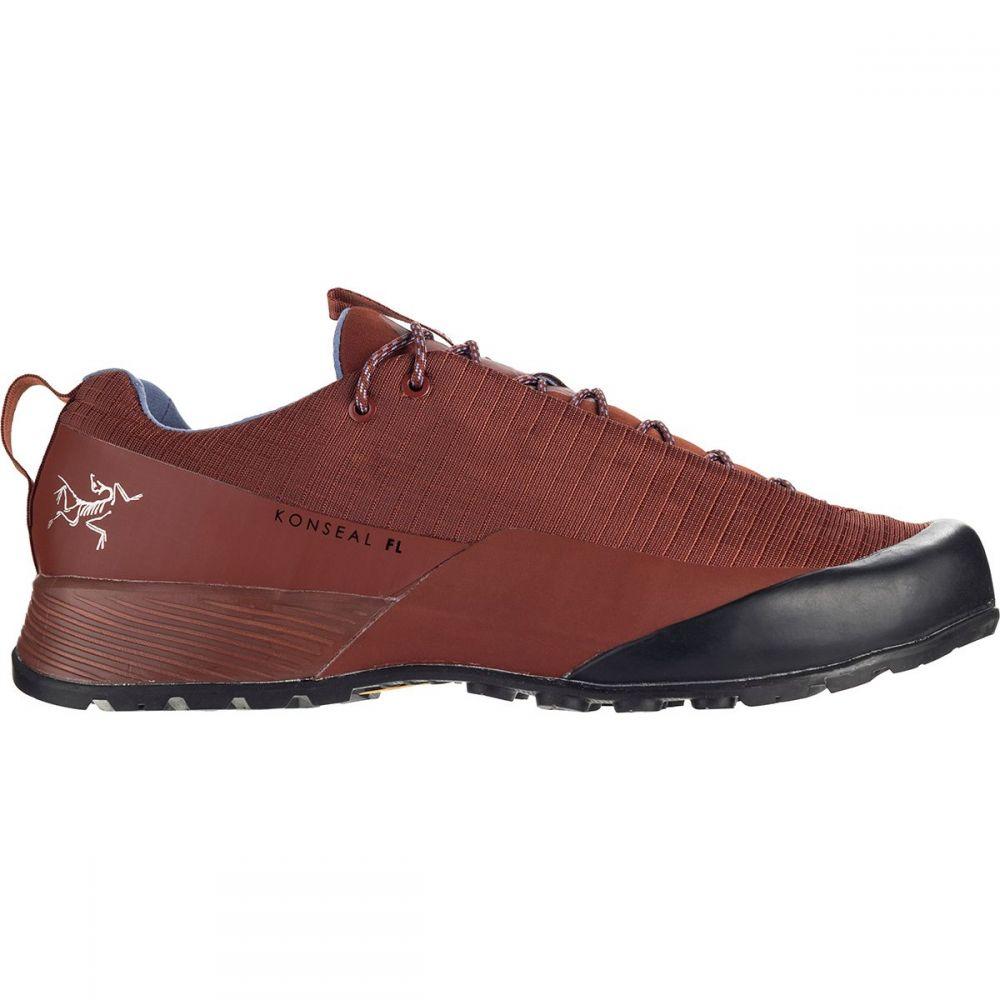 アークテリクス Arc'teryx レディース ハイキング・登山 シューズ・靴【Konseal FL Approach Shoe】Redox/Binary
