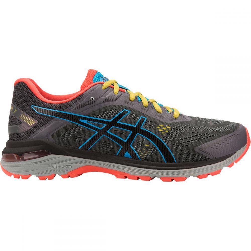 アシックス Asics メンズ ランニング・ウォーキング シューズ・靴【GT - 2000 7 Trail Running Shoes】Dark Grey/Black