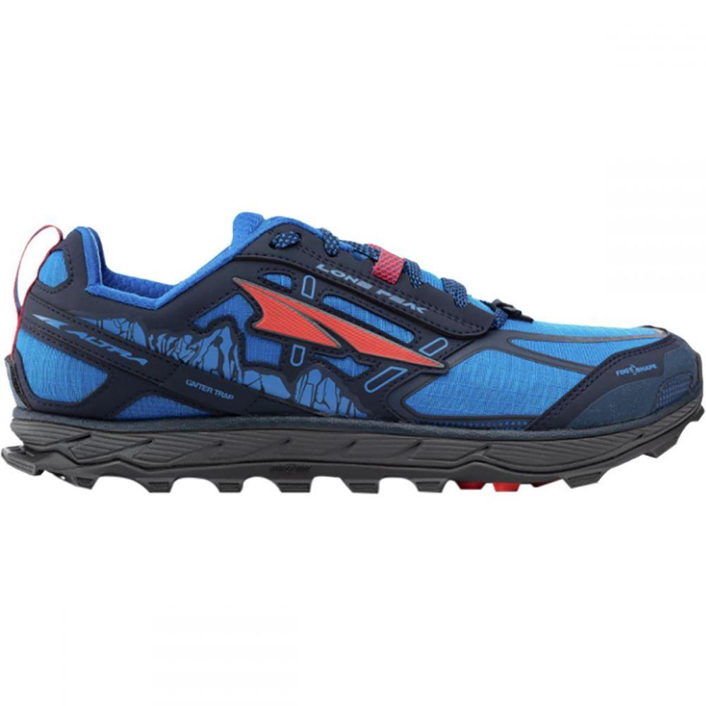アルトラ Altra メンズ ランニング・ウォーキング シューズ・靴【Lone Peak 4.0 Trail Running Shoes】Blue