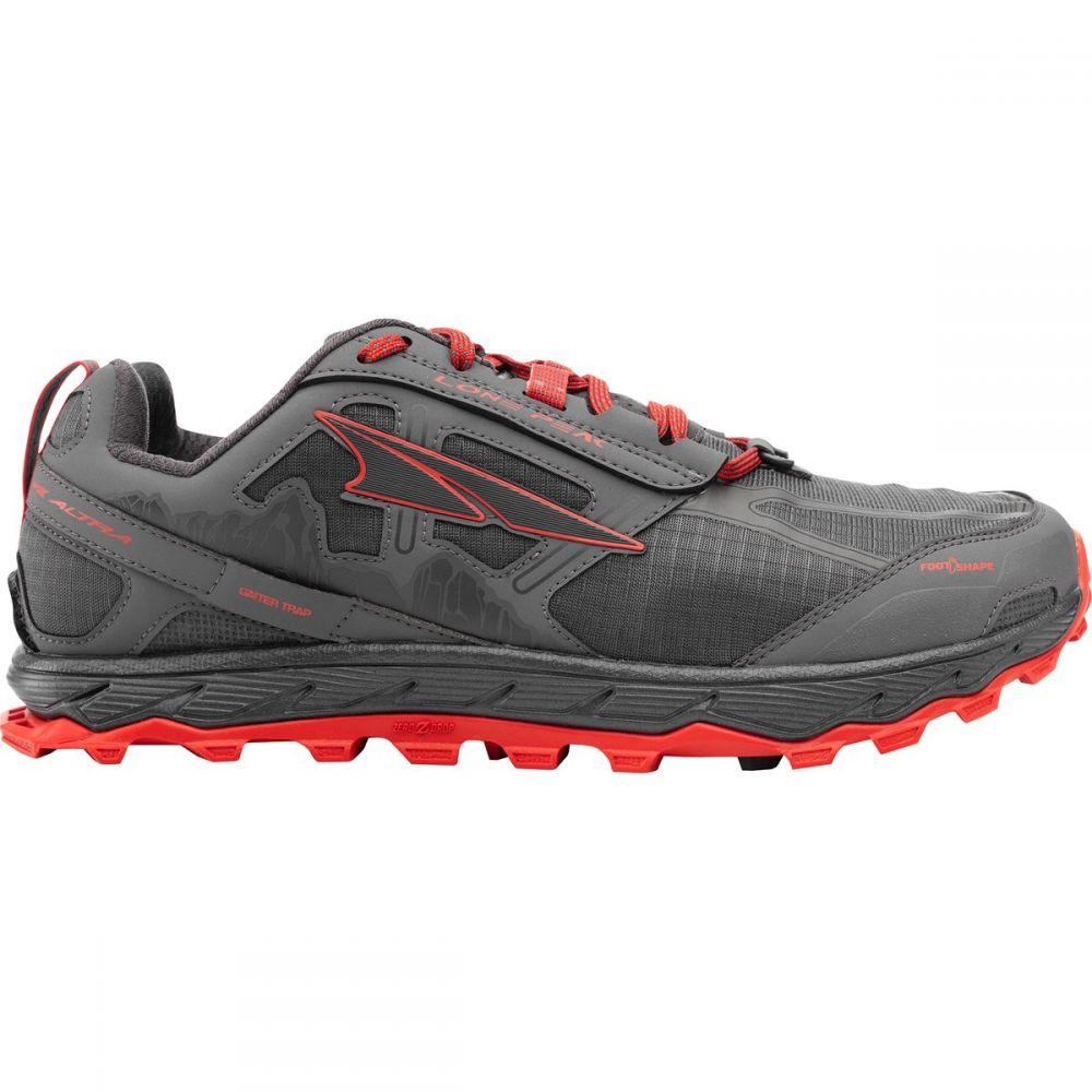 アルトラ Altra メンズ ランニング・ウォーキング シューズ・靴【Lone Peak 4.0 Trail Running Shoes】Gray/Orange
