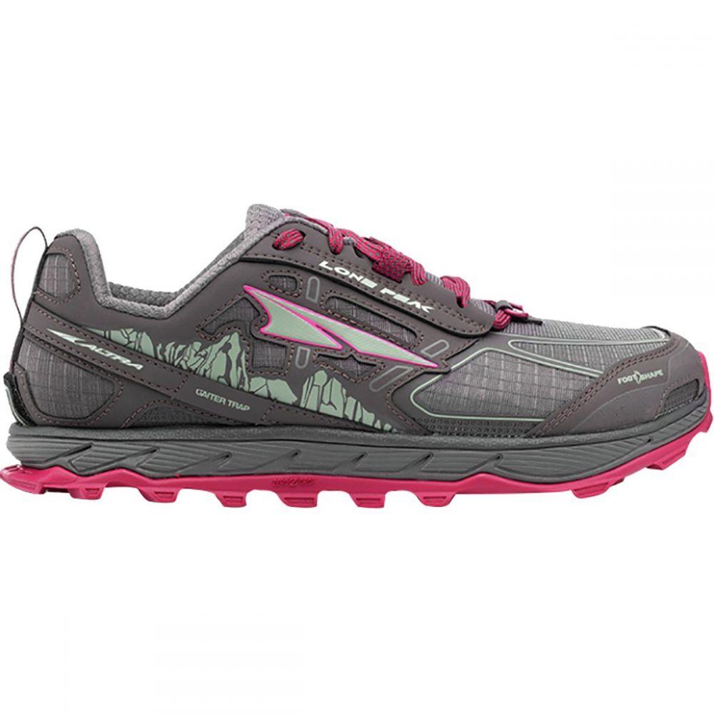 アルトラ Altra レディース ランニング・ウォーキング シューズ・靴【Lone Peak 4.0 Trail Running Shoe】Raspberry