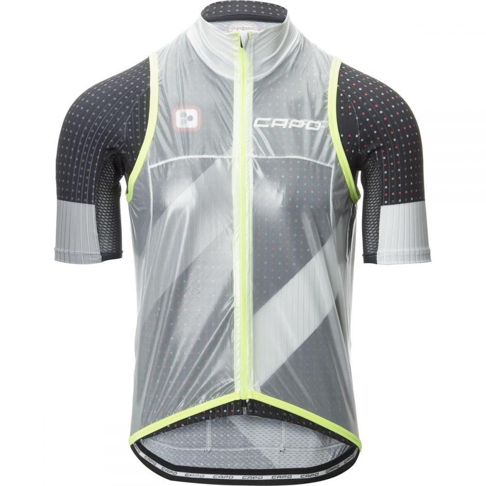 新品入荷 カポ Capo メンズ 自転車 トップス【Pursuit トップス メンズ【Pursuit Compatto Capo Wind Vests】Clear, アツミグン:447b7147 --- mokodusi.xyz