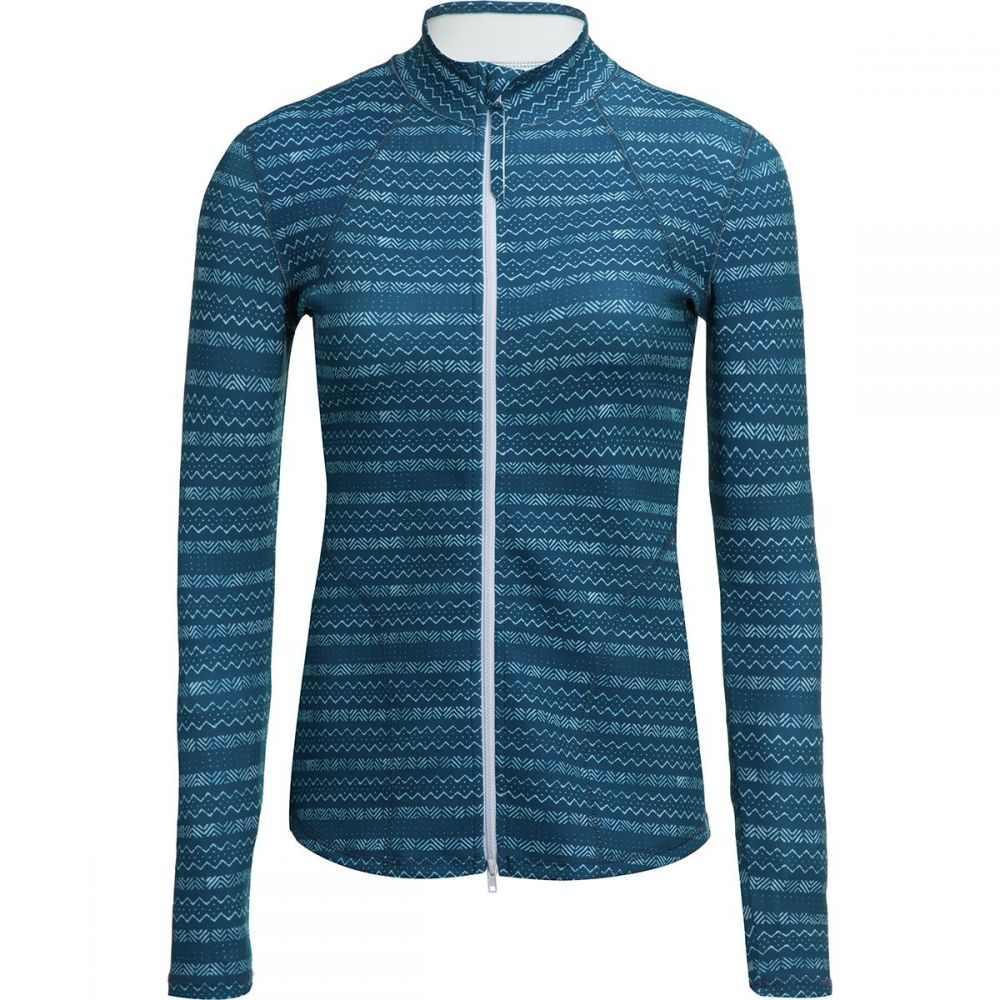 カーヴデザイン Carve Designs レディース 水着・ビーチウェア ラッシュガード【Stella Zip - Up Jacket】Azul Isla